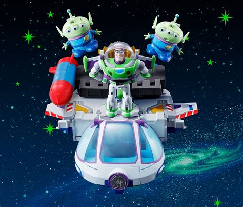 Mainan Anak Robot Buzz Light Year Toys Story 4 Termurah story characters by bandai form a voltron like mega collider