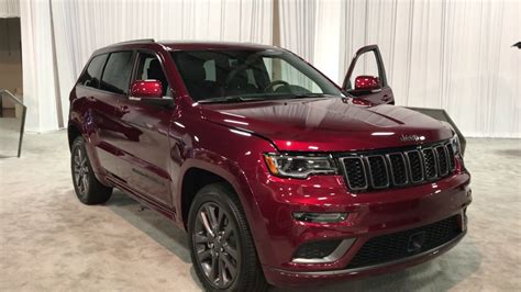 jeep altitude 2018 2018 jeep grand cherokee high altitude youtube