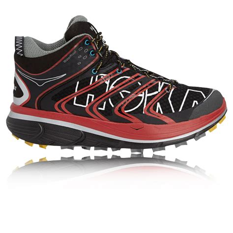 mid trail running shoes hoka tor speed mid wp trail running shoes ss16 38