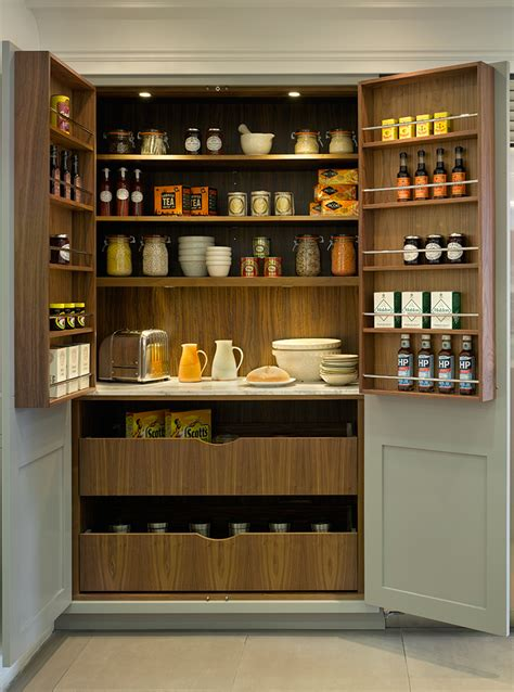 Kitchen Larder Cupboard Storage Roundhouse Design Roundhouse Design