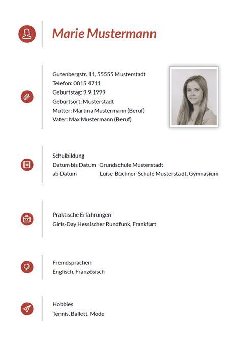 Lebenslauf Vorlage Drucken Drucke Selbst Kostenlose Musterbewerbungen F 252 R Sekret 228 Rin Praktikant Und Beruftseinsteiger