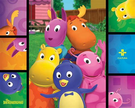 The Backyard Agains by The Gallery For Gt The Backyardigans Wallpaper