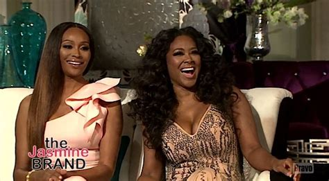 nene leakes and porsha williams will not hold a peach next kenya moore alleges kim fields husband is gay nene