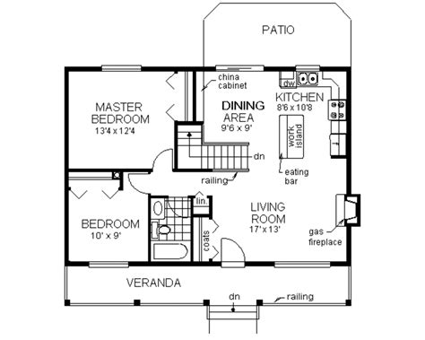 main floor plans country style house plan 2 beds 1 baths 900 sq ft plan