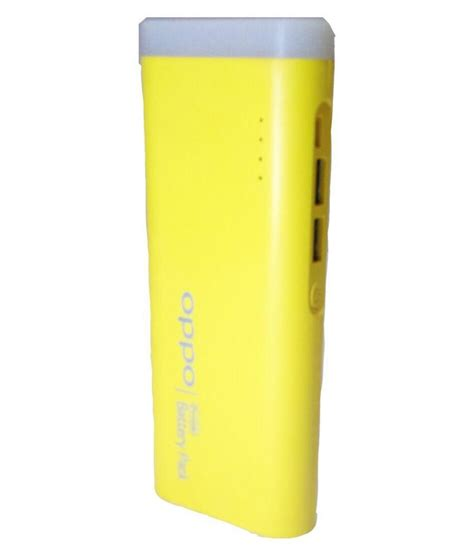 Power Bank Oppo 13000mah by Oppo 13000mah Power Bank Yellow With Usb Cable Buy