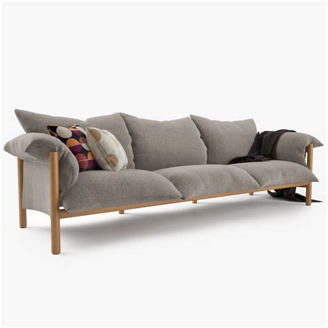 jardan couches jardan wilfred sofa set 3d model max obj fbx mtl