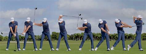 swing sequence swing sequence dustin johnson australian golf digest