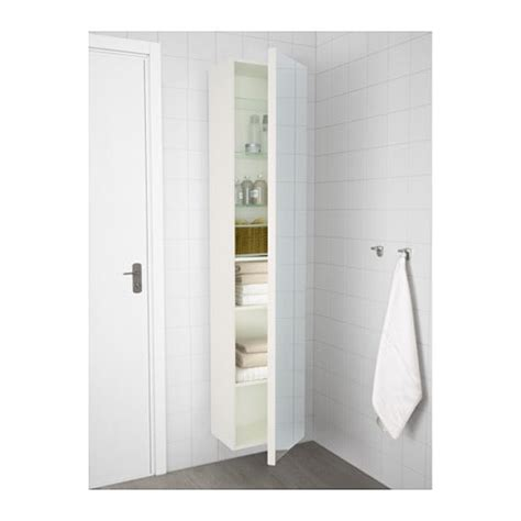 ikea black gloss kitchen cupboard doors godmorgon high cabinet with mirror door high gloss white