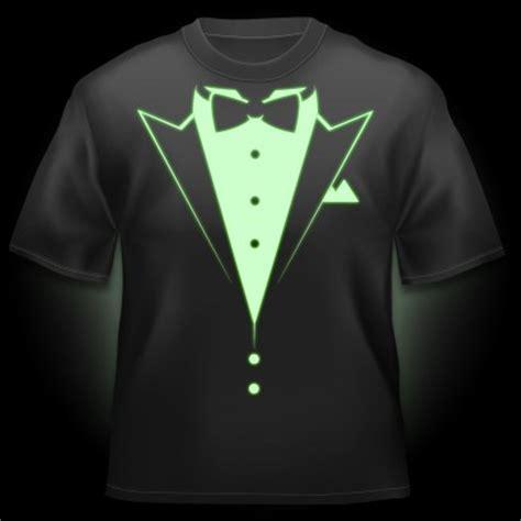 design t shirt glow in the dark glow t shirt dinner jacket glow flash t shirts