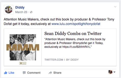 Diddy Goes Multi Platinum by Multi Platinum Veteran Bad Boy Records Producer Tony