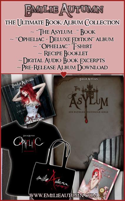 the asylum for wayward books the asylum for wayward emilie autumn wiki
