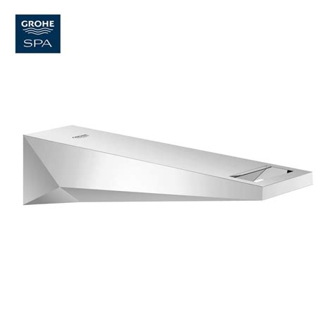 grohe bathtubs grohe allure brilliant wall mounted bath spout uk bathrooms