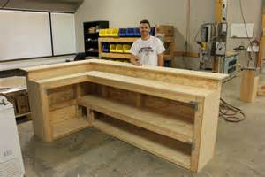 How To Build A Wood Bar Top by Diy Bar Diy Done Right