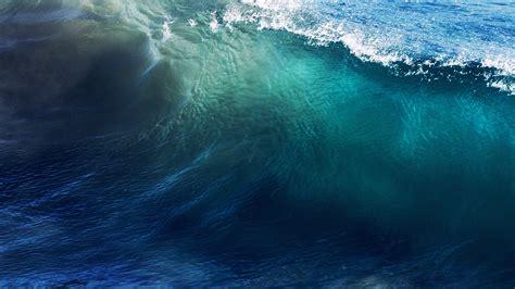 wave sea ocean summer blue wallpaper
