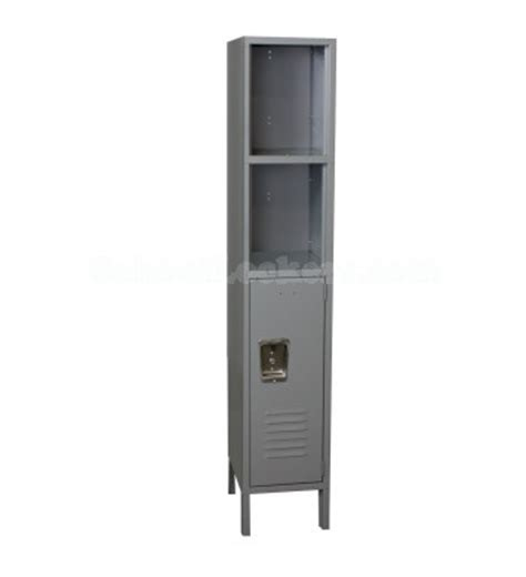 garage storage locker with cubbies