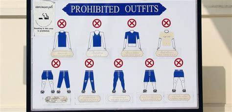 bangkok grand palace dress code