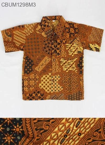 Kemeja Anak Motif Size M by Kemeja Batik Anak Motif Klasik Size M Kemeja Murah