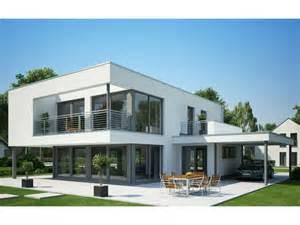haus flachdach ein modernes einfamilienhaus mit einem flachdach eine