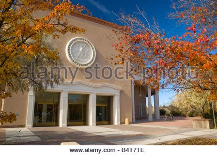 santa fe new mexico state capitol stock photo usa new mexico santa fe father sky mother earth native