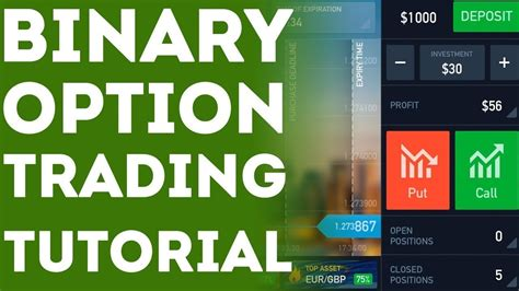 tutorial online trading binary options trading tutorial for beginners 5 tips on