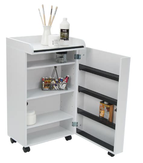 storage cabinet on wheels