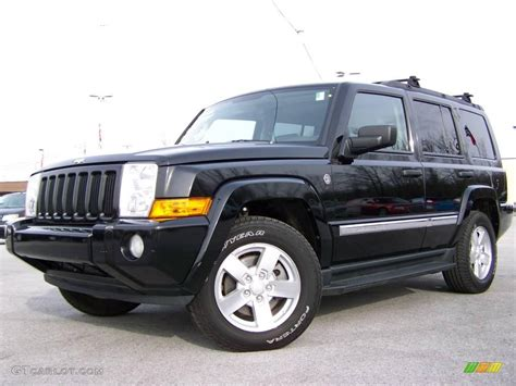 Jeep Commander All Black 2006 Black Jeep Commander 4x4 4886846 Gtcarlot