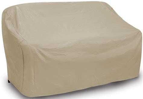 tan sofa cover tan two seat wicker sofa cover from pci outdoor covers