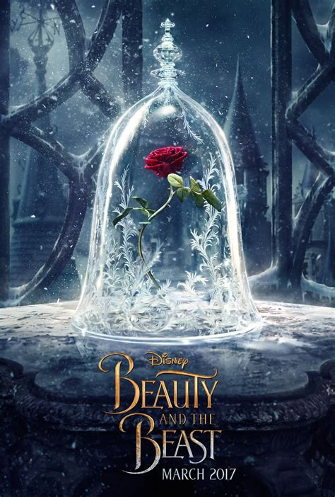 beauty and the beast beauty and the beast 2017 poster 1 trailer addict