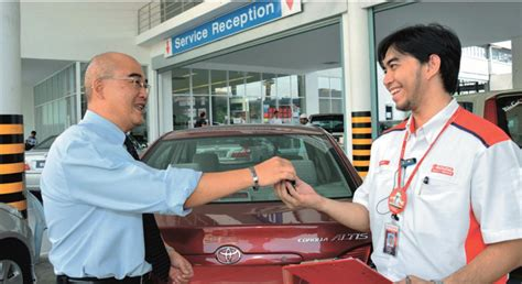 toyota motor services toyota ranked highest in customer service and sales