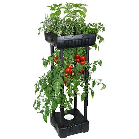 Patio Garden Planters Upside Down Patio Garden Walmart Com
