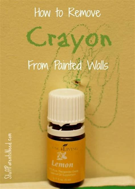 remove crayon from wall how to remove crayon from painted walls a well painted walls and living essential oils
