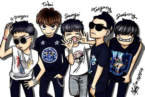 Pin Kaleng Kpop Bigbang 1 bigbang 1 k pop dibujos kawaii fotos
