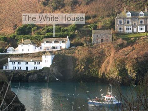 white house house port isaac cottage retired
