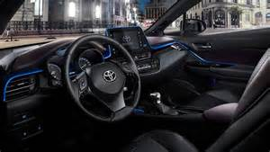 Expose New 2017 Toyota Ch R Suv Interior Toyota Ch R Suv Interior Revealed Ahead Of 2017 Launch