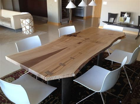 The Kitchen Collection Uk by Hand Crafted Living Edge Cherry Dining Table By Opa S