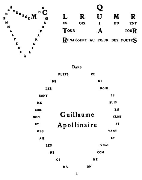 calligrammes by guillaume apollinaire file guillaume apollinaire calligramme cœur couronne