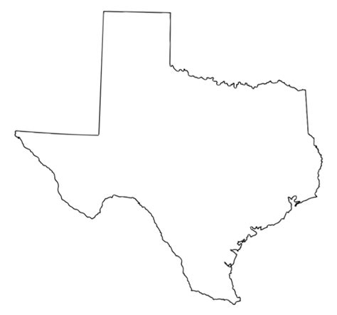 texas map shape texas outline studio design gallery best design