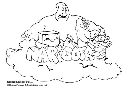 Imprimir Los Dibujos Para Colorear De Narigota Pintar Con | imprimir los dibujos para colorear de narigota pintar con