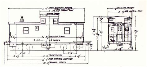 caboose floor plans g file no 57 page 1 g file no 57 page 2 closeup of plans