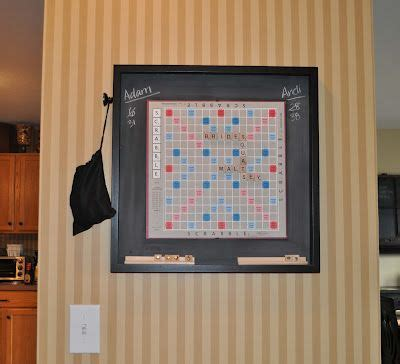 magnetic scrabble board wall house of payne hanging magnetic scrabble board just