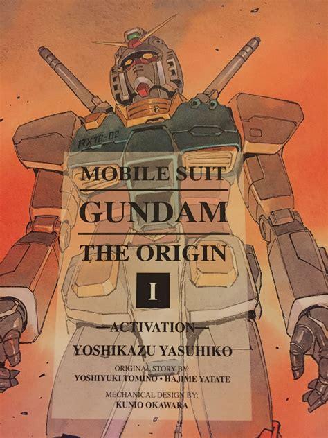 mobile suit gundam the origin vol 1 mobile suit gundam the origin vol 1 activation the