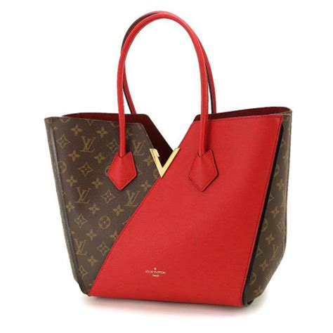 auth louis vuitton monogram kimono tote shoulder bag