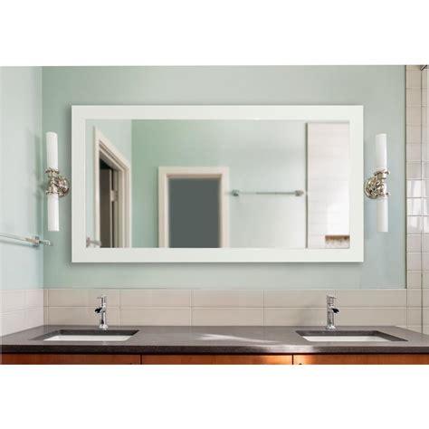Large Vanity Mirror by 72 In X 39 In Delta White Large Vanity Mirror