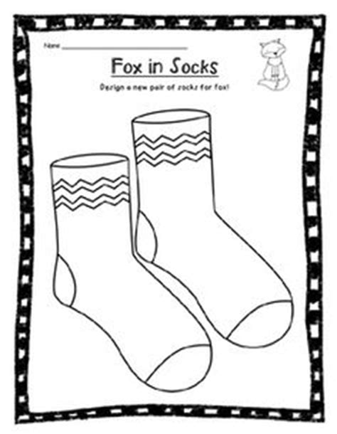 coloring pages for fox in socks fox in socks by dr seuss coloring page from twistynoodle