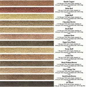 mortar colors cement products san antonio