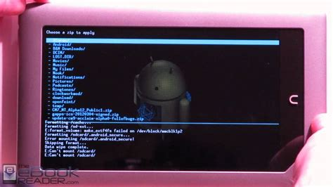 install android on windows tablet how to install android 4 0 on nook tablet plus ics apps