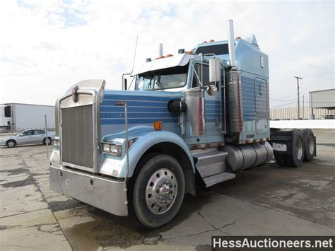 trailers kenworth for sale used 1988 kenworth w900 tandem axle sleeper for sale in pa