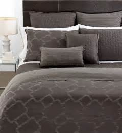 hotel collection bedding gridwork 16 quot square decorative