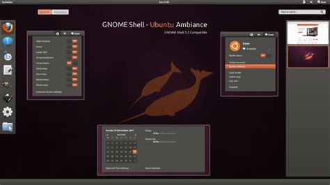 ubuntu themes gnome shell gnome shell ubuntu ambiance by half left on deviantart