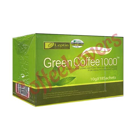Coffee Leptin 1000 Kopi Untuk Diet jual green coffee leptin harga c